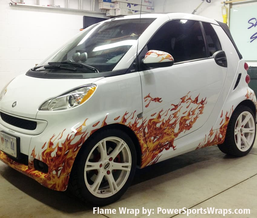 We car create whatever look you want for your SMART car.