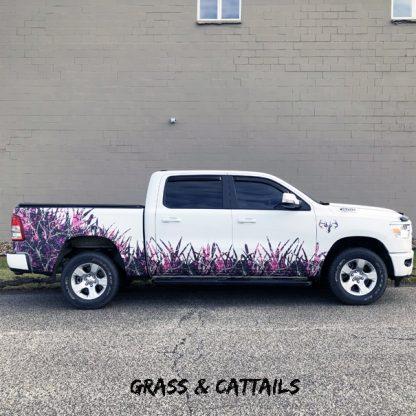 Grass-Cattails truck kit