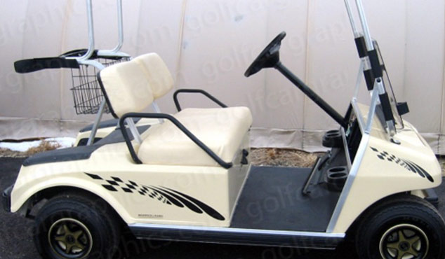 golf cart design chicane