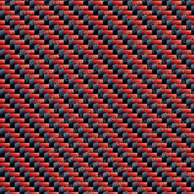 Red Black Carbon Fiber mtl-536-rbc