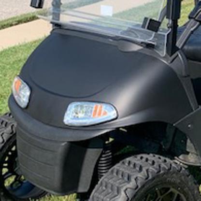 Golf Cart wrap Matte-Back