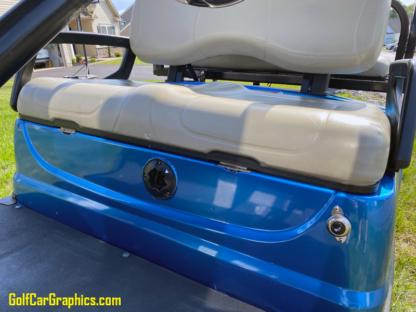 Blue-Bright-Metallic-Gloss-full-body-golf-car-wrap-on-Yamaha-golf-car