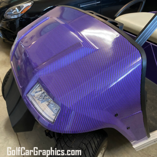 Purple---Black-Carbon-Fiber-full-body-golf-car-wrap