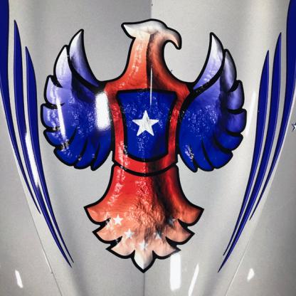 Eagle-One-golf car graphics-kit